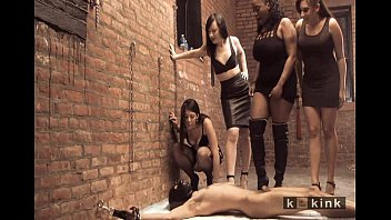 chained whipping asian male femdom Pawning her shoes