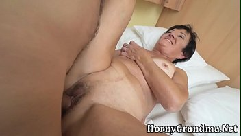 grandma my fucking Sister forced to jerkoff