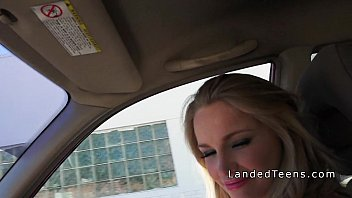 sexy blonde upskirt with teen face shot Highschool of the dead porn6