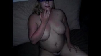 busty friend he fucks watches wife and as hubbys films Cum explosion on throath mouth