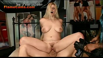 hot a skirt in rides blonde cock mini Slut stripping for dope
