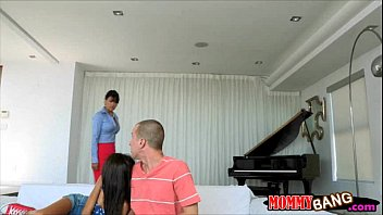 stepmom by caught Omg thats a big cock